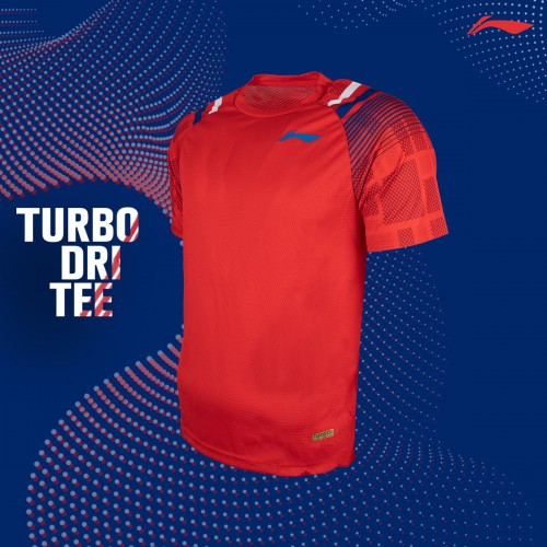 Li-Ning TurboDri Tee (Red)